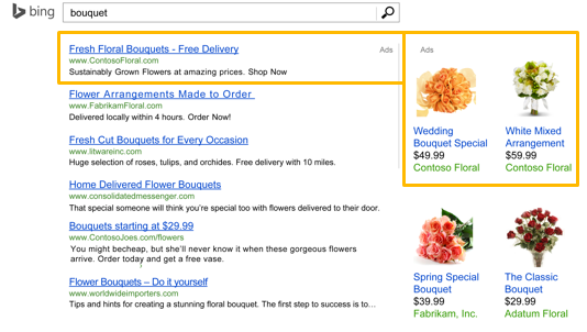 Advertising on Bing